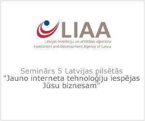 LIAA Seminārs 5 Latvijas pilsētās